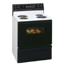 rca 30 self cleaning free standing electric range with. Black Bedroom Furniture Sets. Home Design Ideas