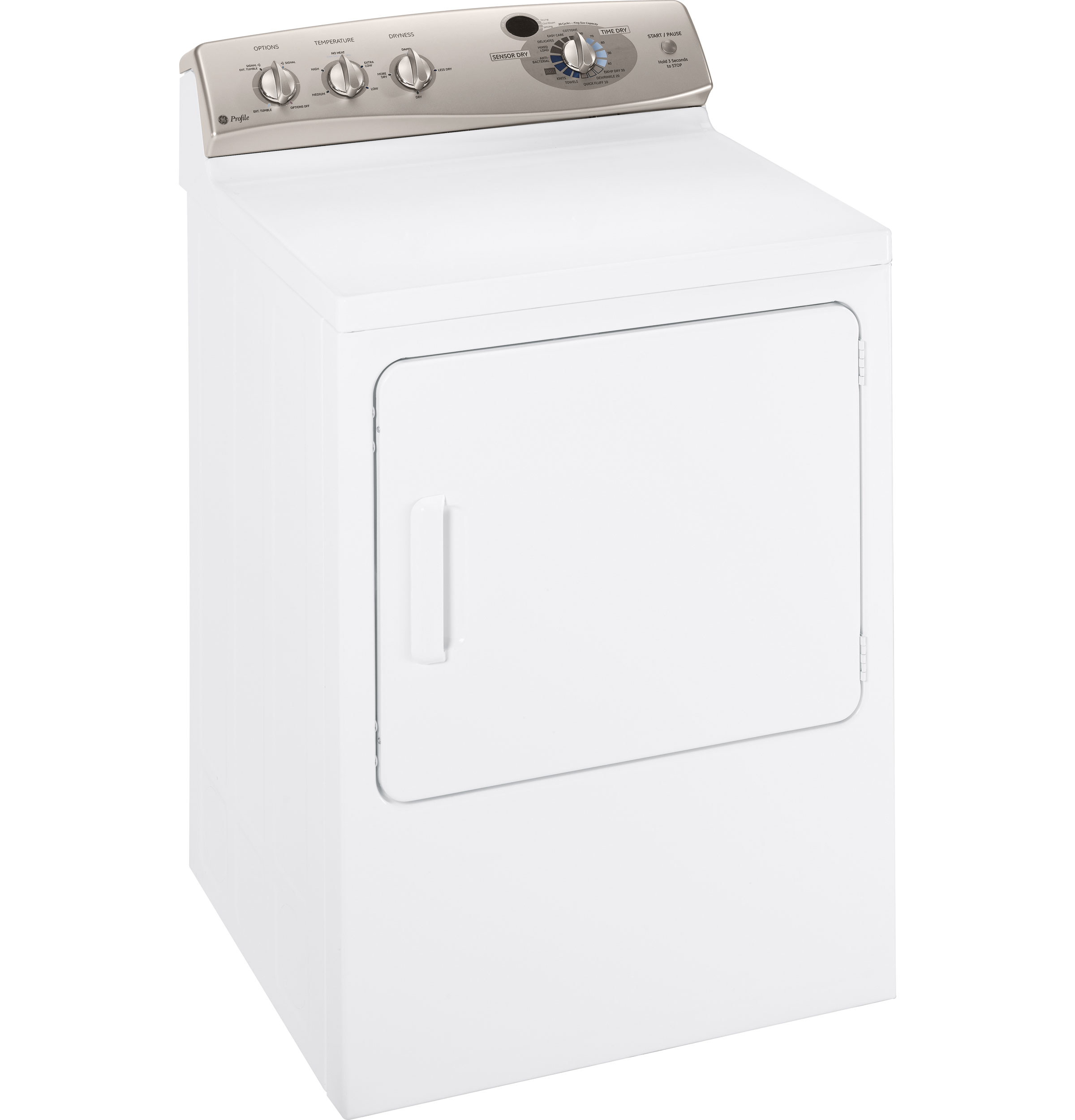 Ge Profile 7 0 Cu Ft Super Capacity Electric Dryer With