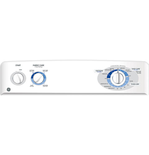 GE® 6 0 Cu  Ft  Extra-Large Capacity Electric Dryer