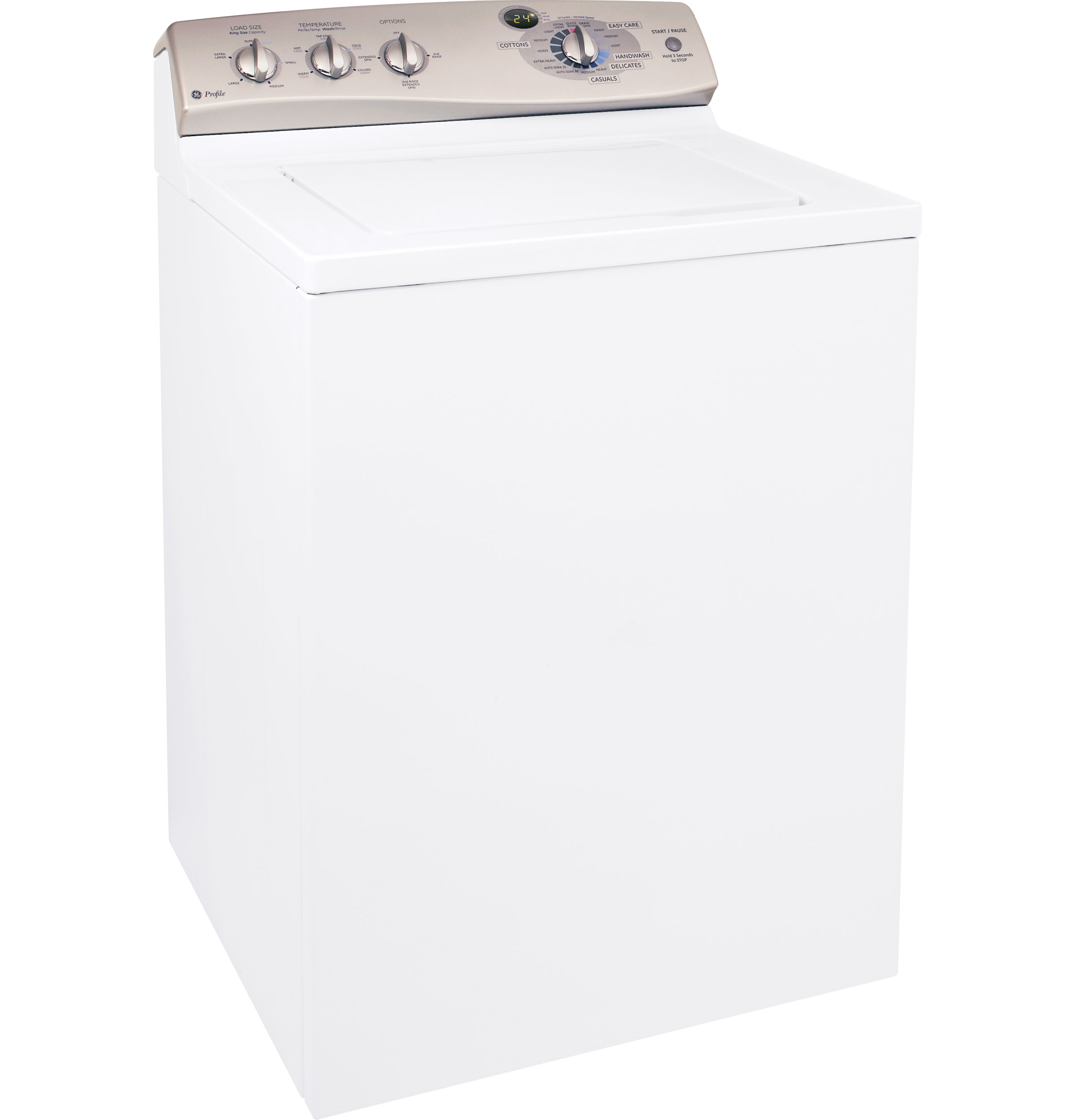 Ge Profile 3 5 Cu Ft King Size Capacity Stainless Steel