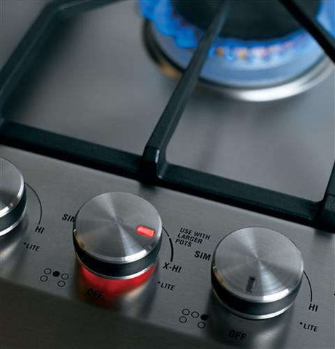 "Thumbnail of Monogram 36"" Stainless Steel Gas Cooktop (Natural Gas) 3"