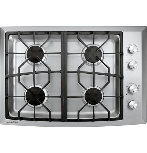 "Thumbnail of Monogram 30"" Stainless Steel Gas Cooktop (Natural Gas)"