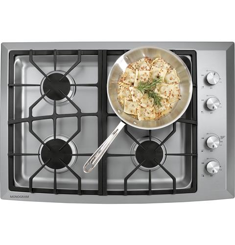"Thumbnail of Monogram 30"" Stainless Steel Gas Cooktop (Natural Gas) 1"