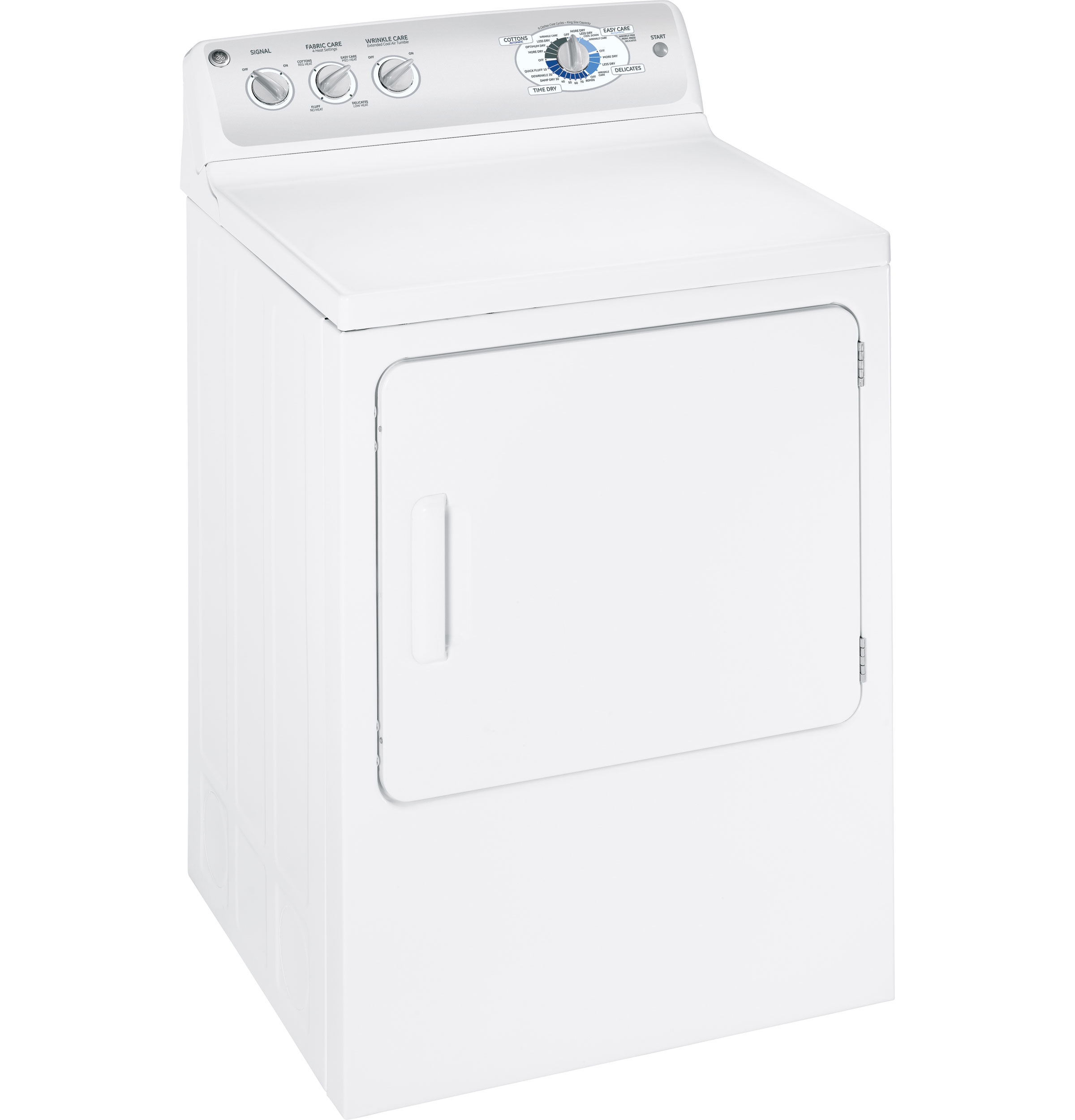 Ge Electric Dryer Heating Element Gear 70 Cu Ft Super Capacity Electric Dryer With Stainless Steel