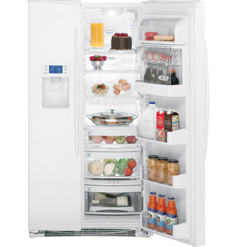 GE Profile™ 25.5 Cu. Ft. Side-by-Side Refrigerator