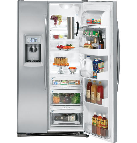 GE Profile™ ENERGY STAR® Counter-depth 23.2 Cu. Ft. Side-by-Side Refrigerator
