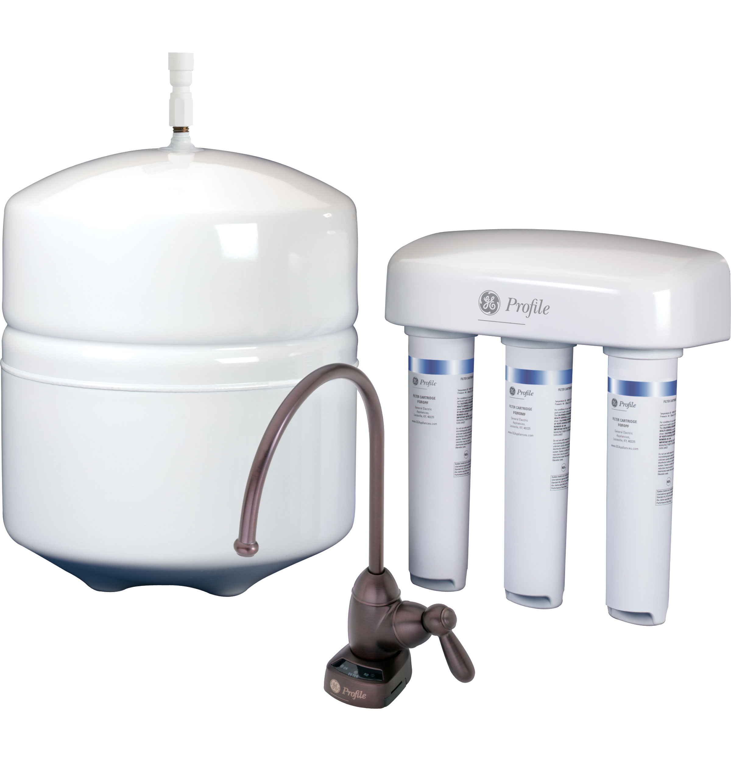 Ge Profile Reverse Osmosis Twist And Lock Filtration