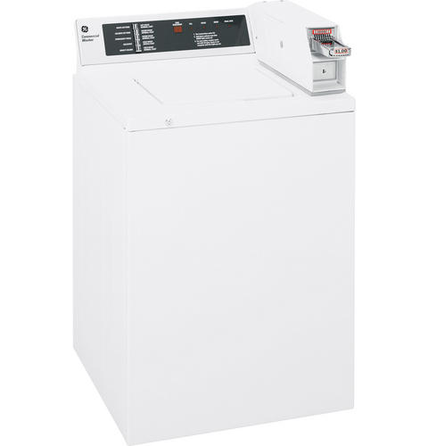GE® 3.2 Cu. Ft. Capacity Coin-Operated Washer