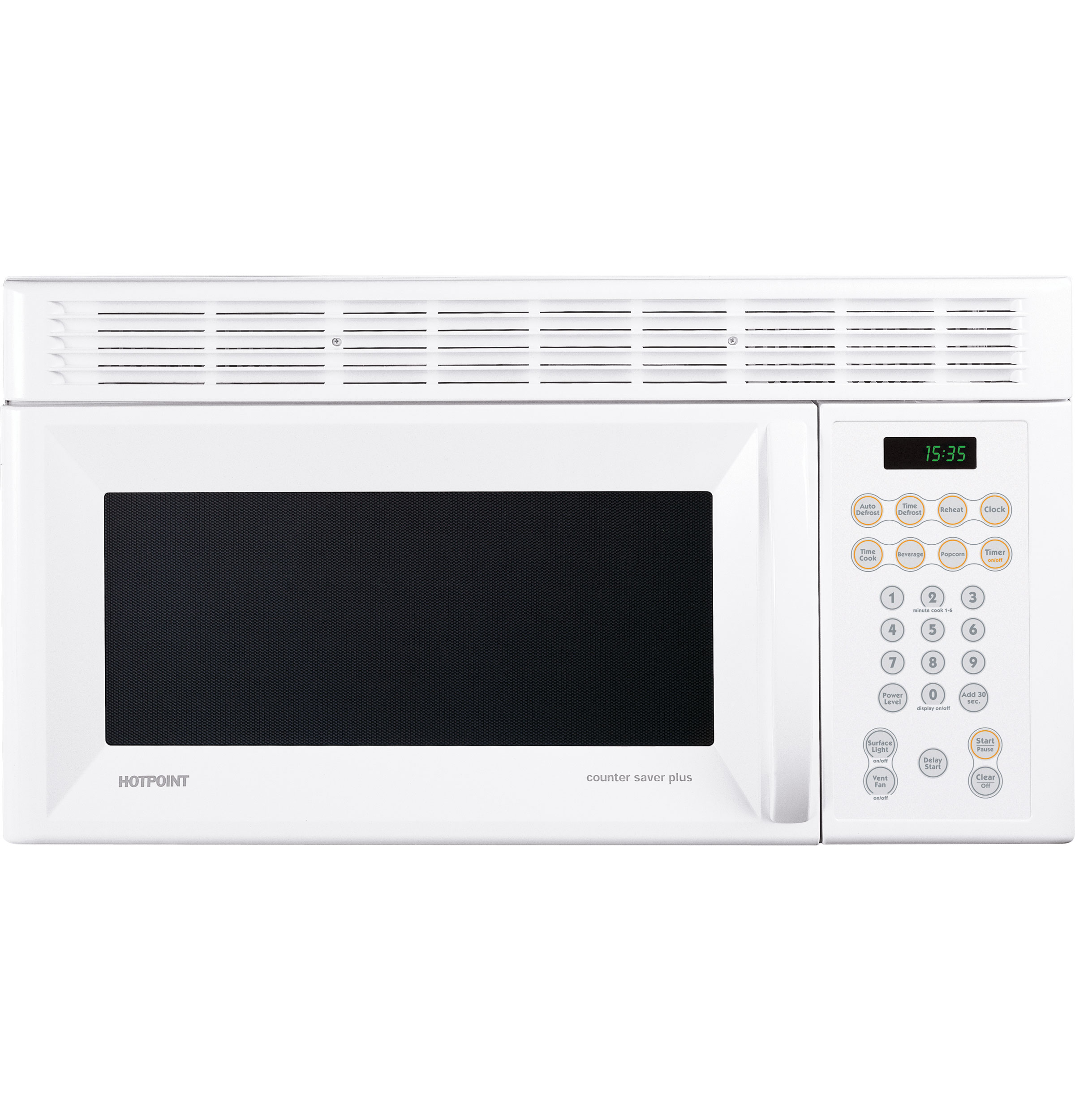 Hotpoint 174 1 5 Cu Ft Over The Range Microwave Oven