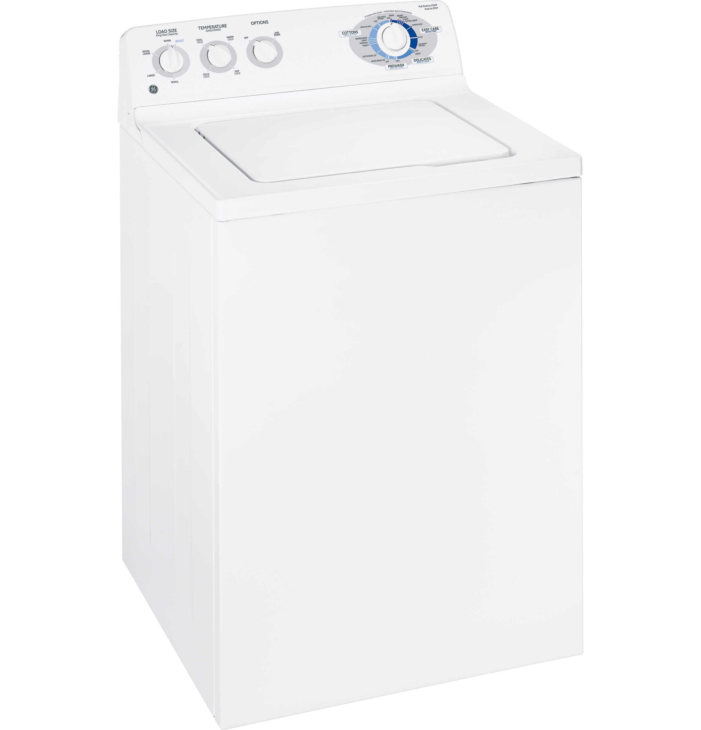 Ge 174 3 5 Cu Ft King Size Capacity Washer With Stainless