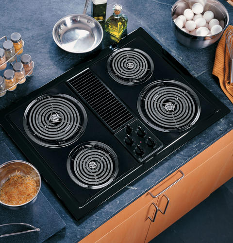 Ge Select Top Modular Downdraft Cooktop Jp389bjbb Ge