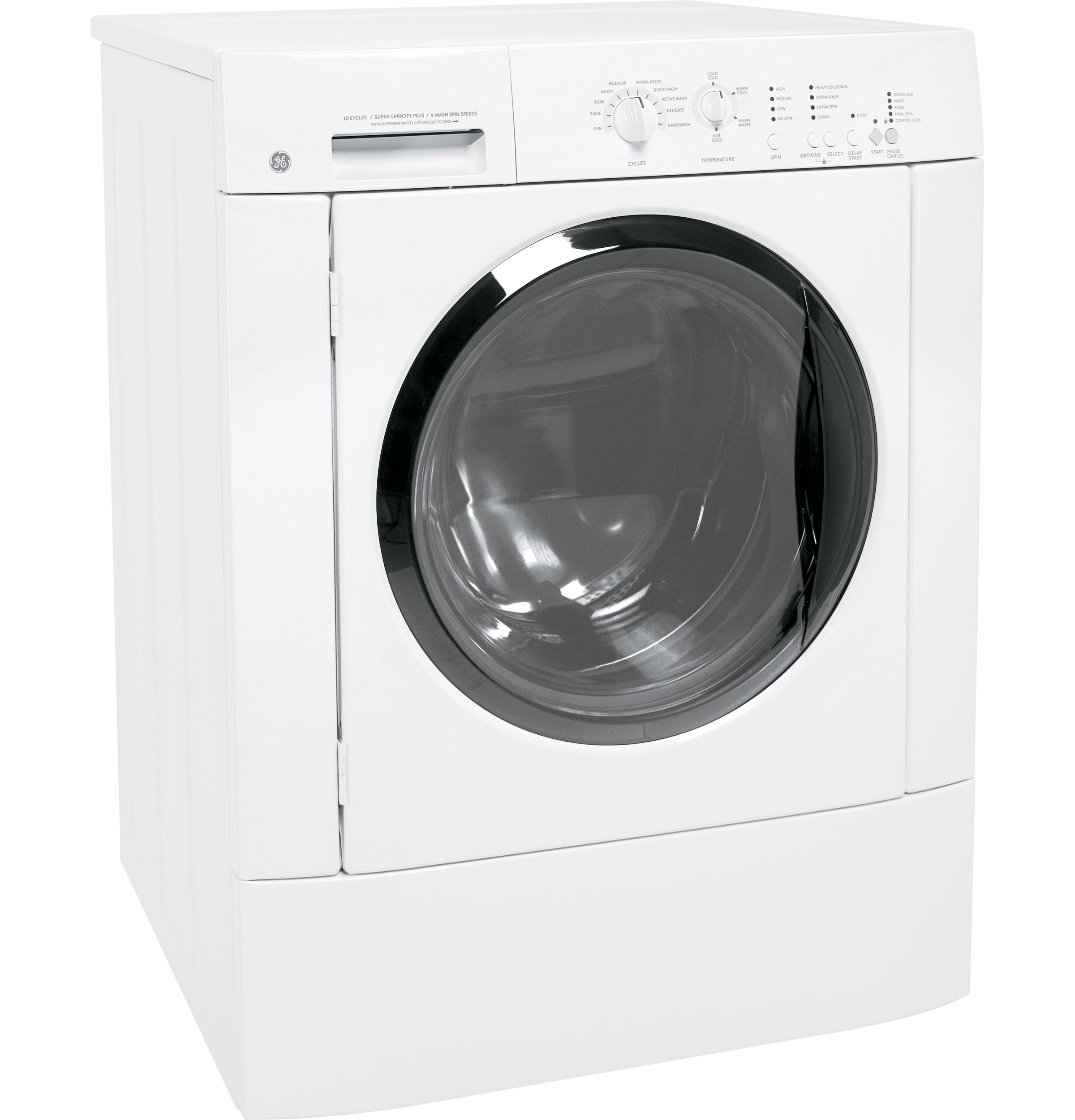Ge 174 3 5 Cu Ft King Size Capacity Frontload Washer With