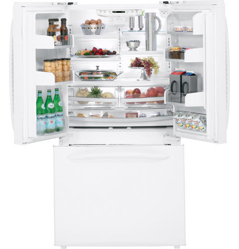 GE Profile™ ENERGY STAR® 20.9 Cu. Ft. Counter-Depth French-Door Refrigerator with Icemaker