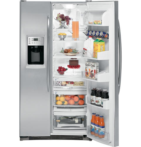 GE Profile™ Counter-depth 23.3 Cu. Ft. Stainless Side-by-Side Refrigerator