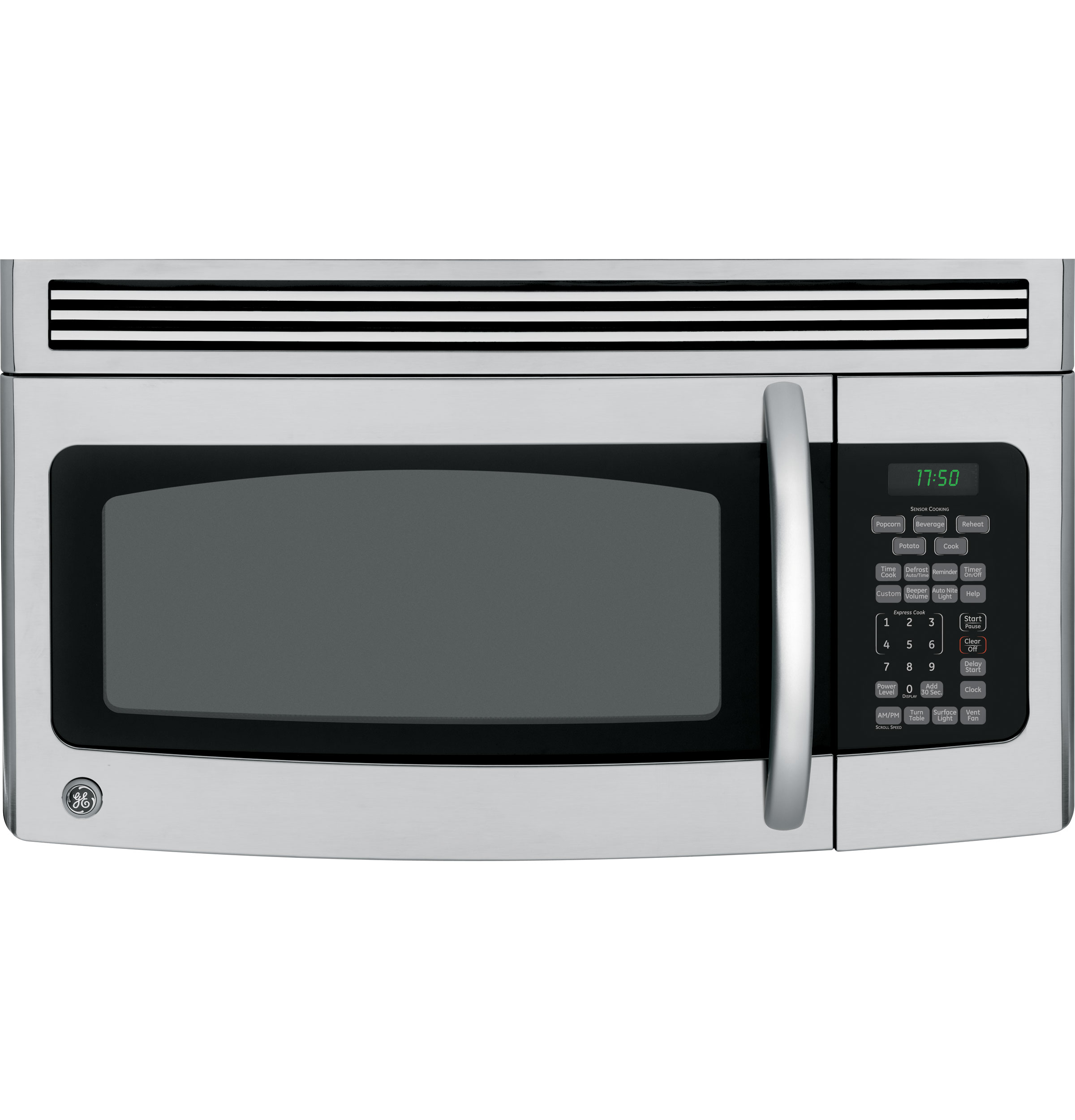 Ge 174 1 7 Cu Ft Over The Range Microwave Oven