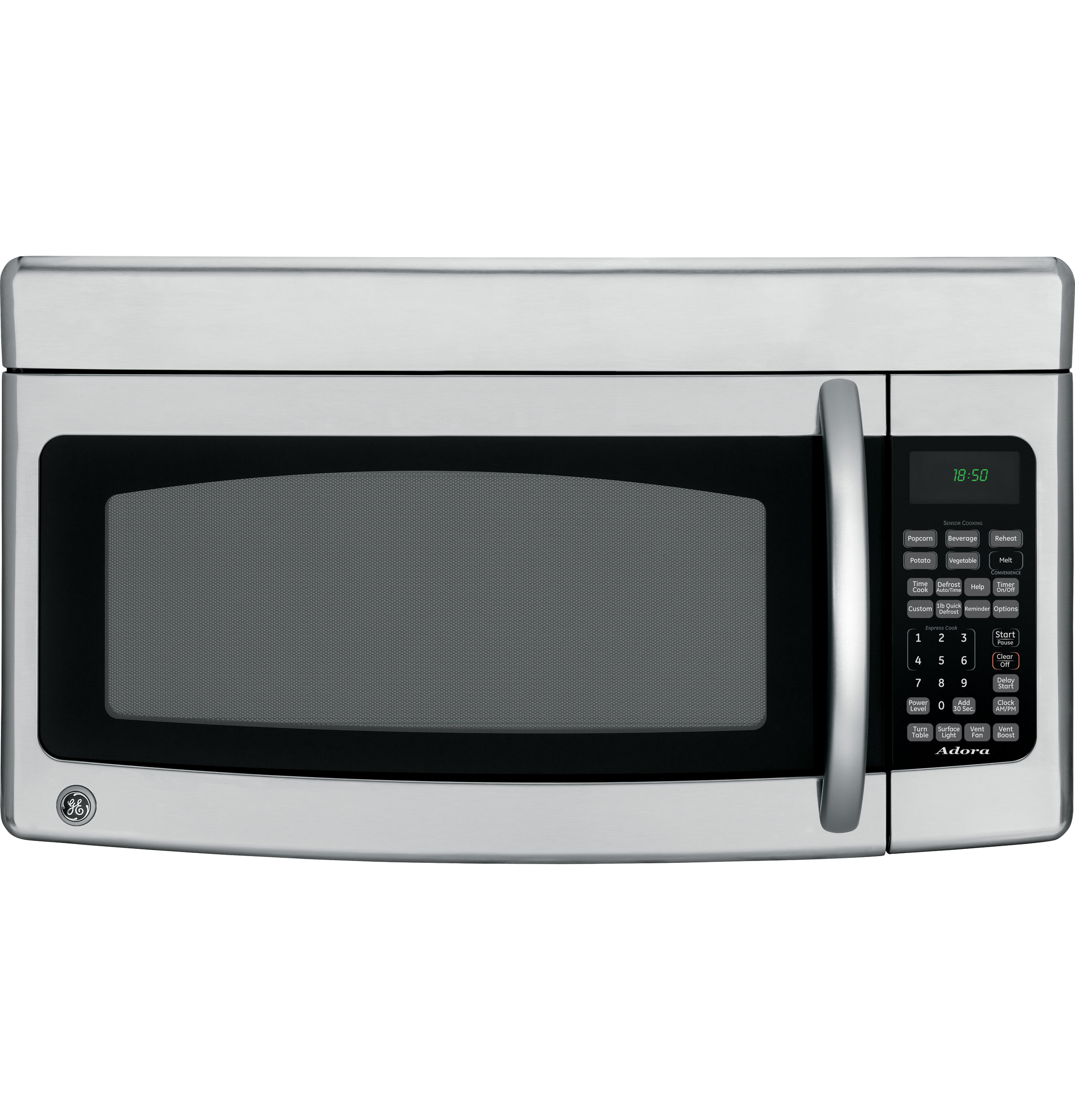 Adora Series By Ge 174 1 8 Cu Ft Over The Range Microwave