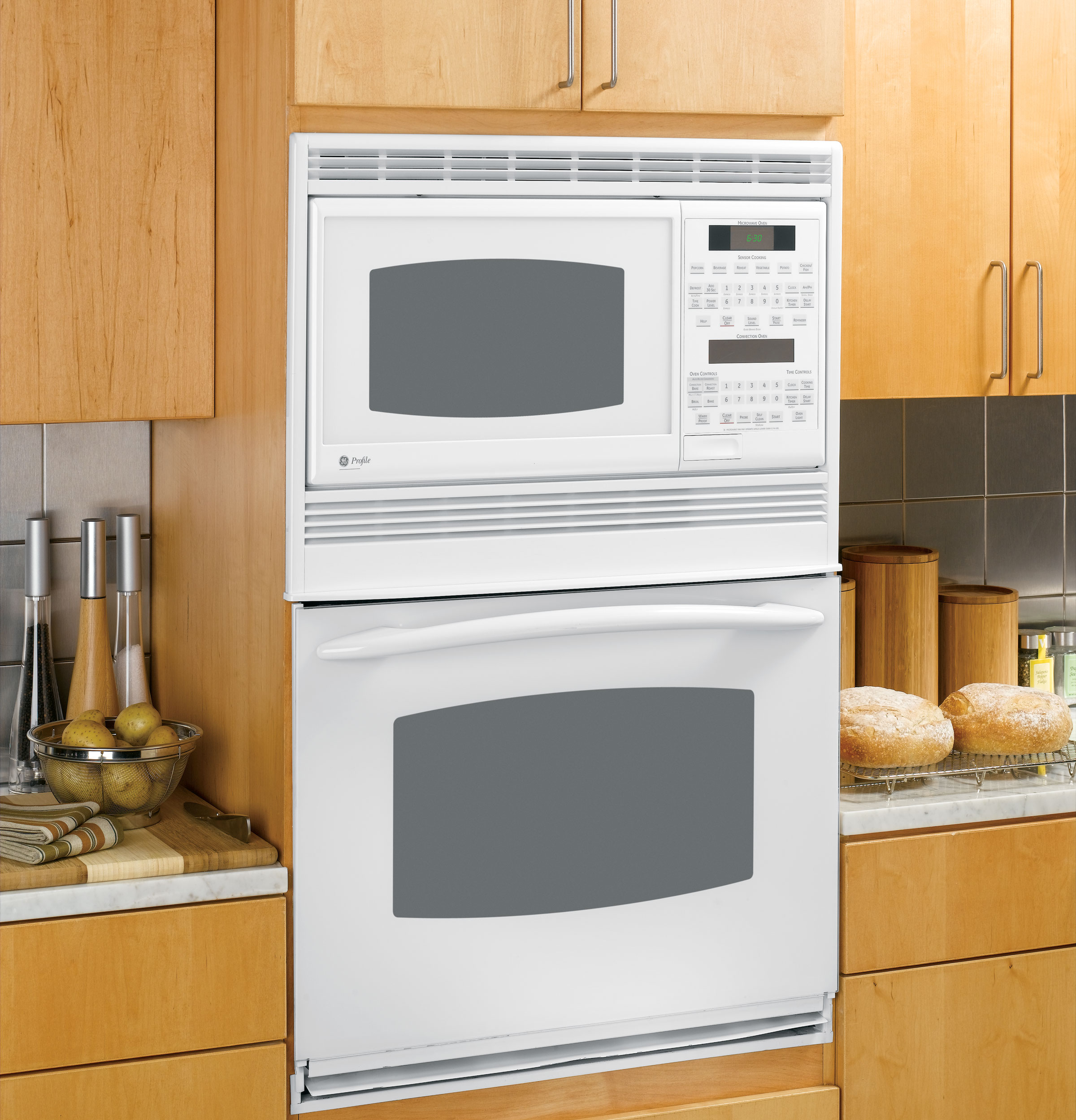 how to use ge convection oven