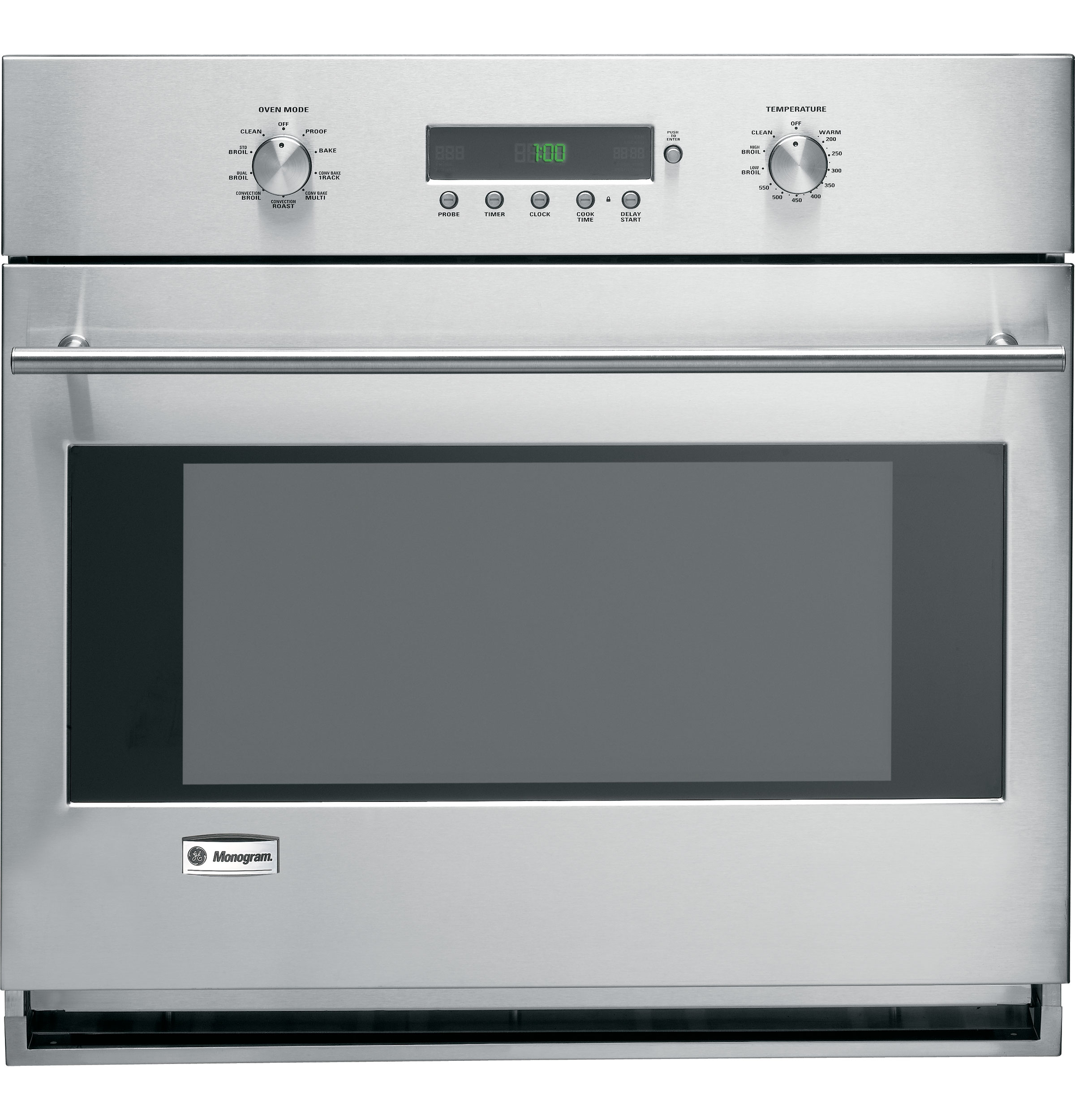 Ge Monogram 174 30 Quot Built In Electronic Convection Single