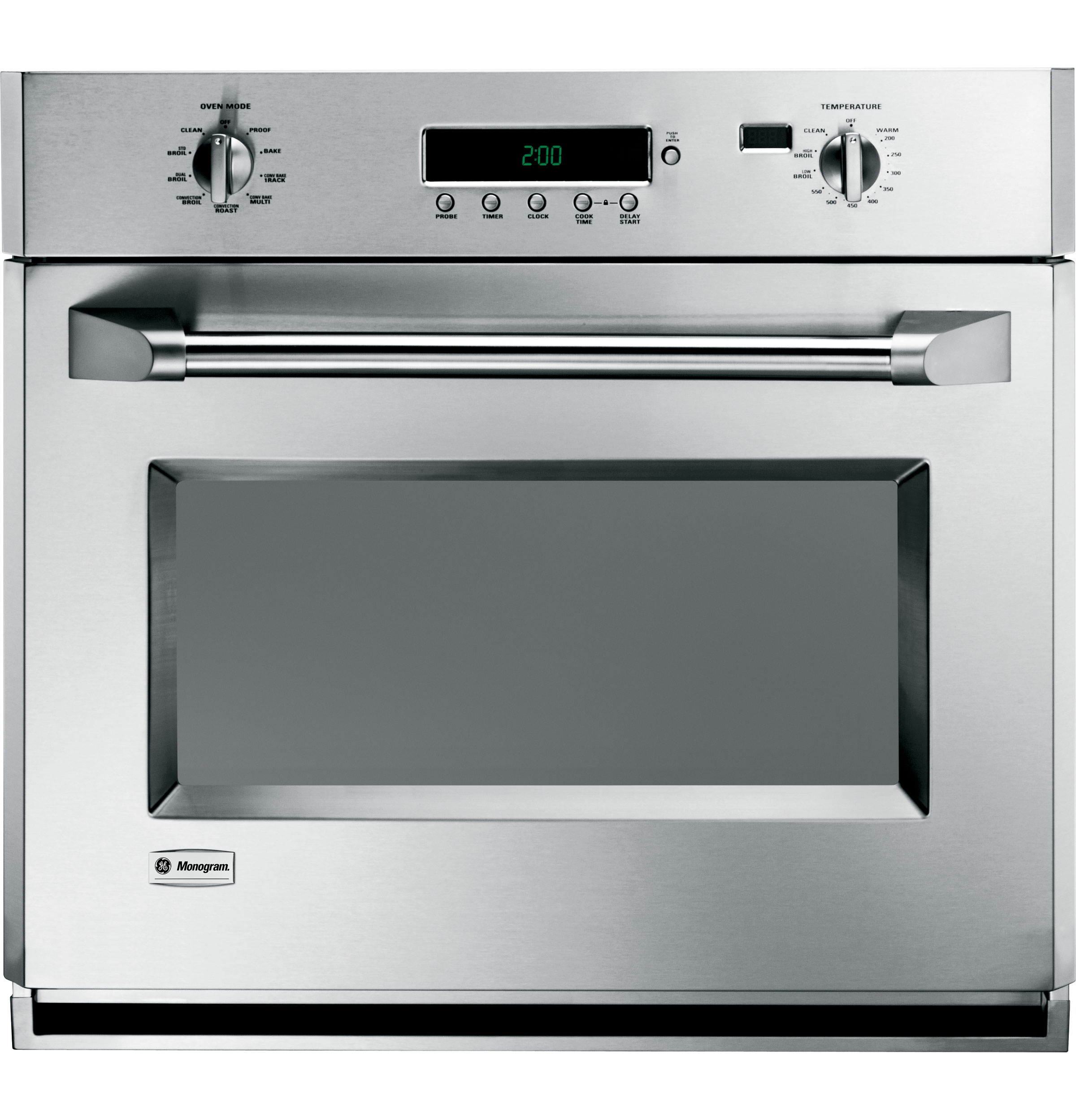 Ge Monogram 174 30 Quot Professional Electronic Convection Single