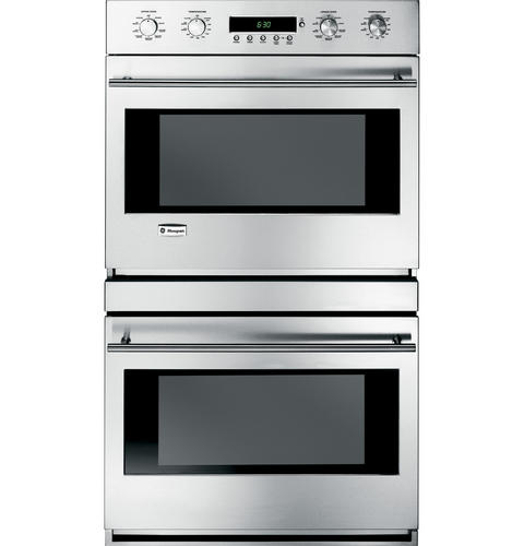 Zet2smss Ge Monogram 30 Built In Electronic Convection Double Wall Oven Liances
