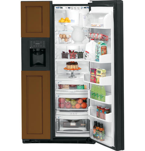 GE Profile™ Counter-depth 23.3 Cu. Ft. Side-by-Side Refrigerator with Dispenser