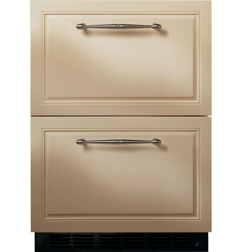 Ge Monogram 24 034 Panel Ready Double Drawer Under Counter