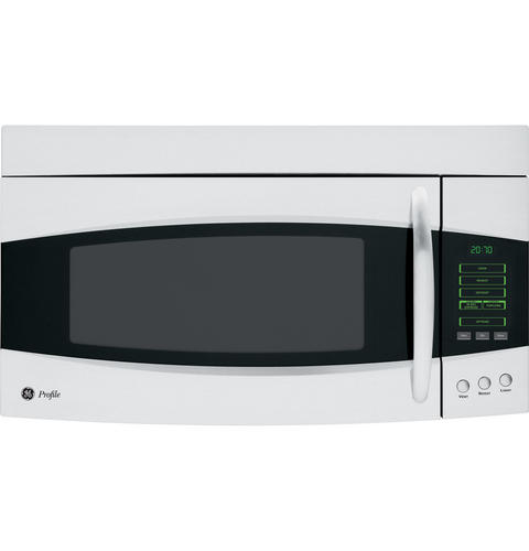 Ge Profile Emaker 2 0 Cu Ft Over The Range Microwave Oven