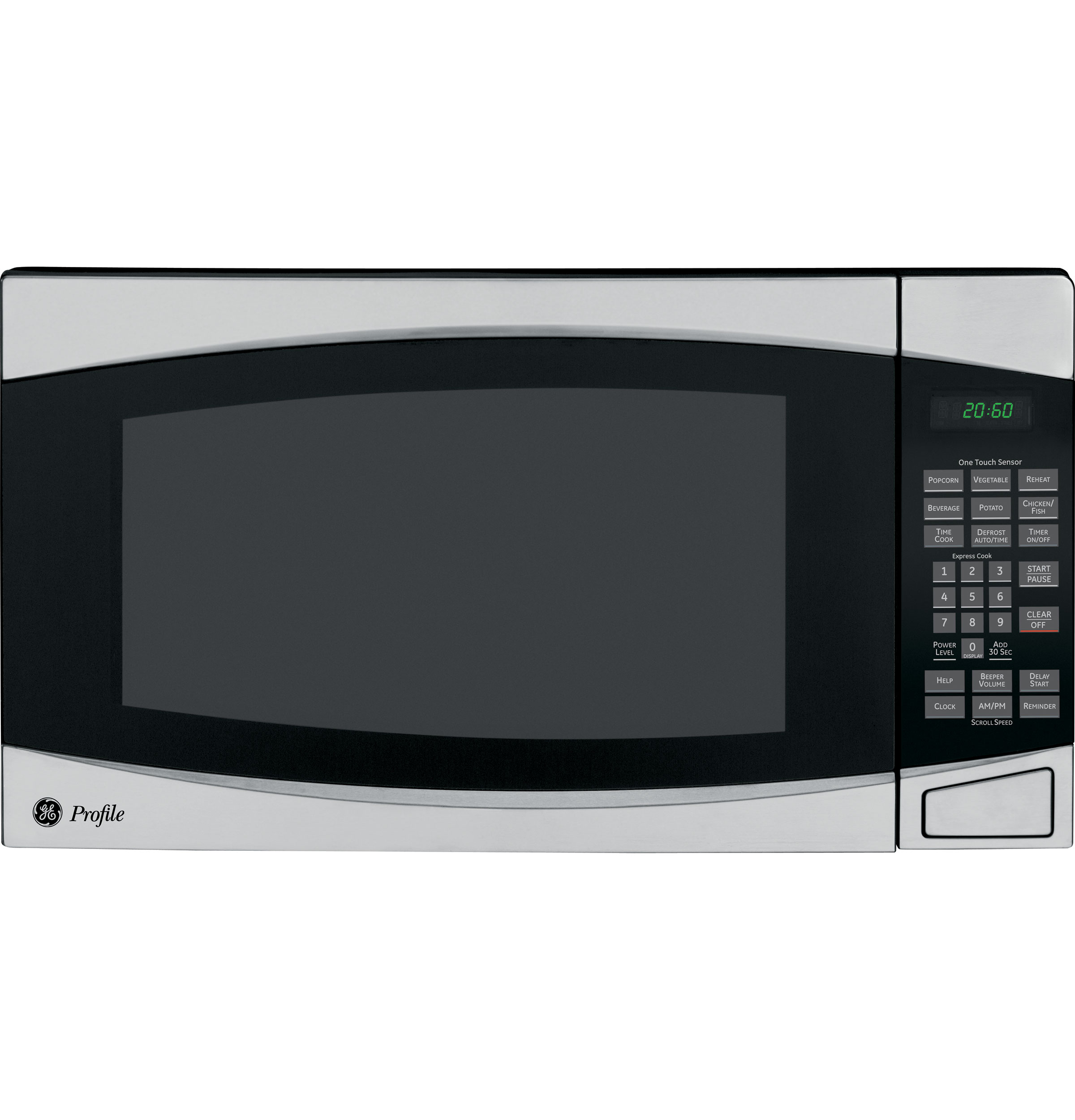 Countertop Microwave No Turntable : GE Profile? 2.0 Cu. Ft. Countertop Microwave Oven PEB2060SMSS GE ...