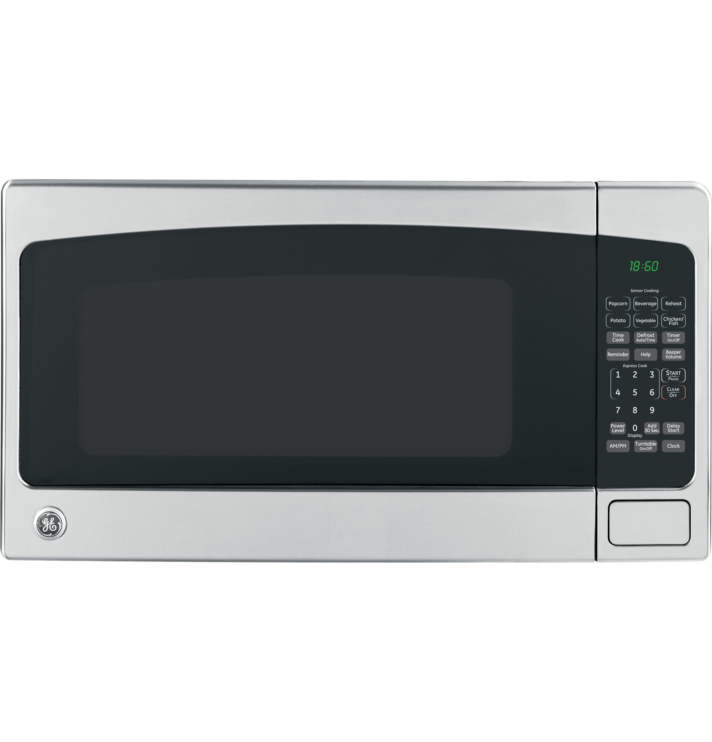 Countertop Microwave No Turntable : GE? 1.8 Cu. Ft. Countertop Microwave Oven JEB1860SMSS GE ...
