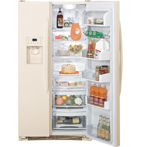GE Profile™ Counter-depth 23.3 Cu. Ft. Side-by-Side Refrigerator
