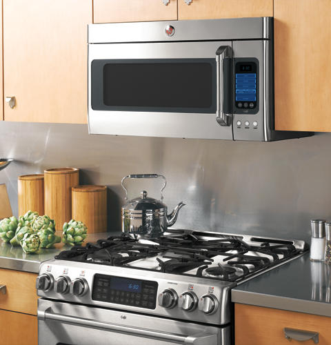 Ge Caf 233 Series 2 0 Cu Ft Over The Range Microwave Oven