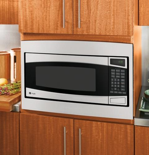 Can Countertop Microwave Be Built In : GE Profile? Countertop Microwave Oven JE2160SF GE Appliances