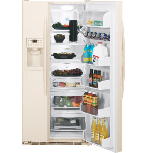 GE Profile™ 23.12 Cu. Ft. Side-by-Side Refrigerator