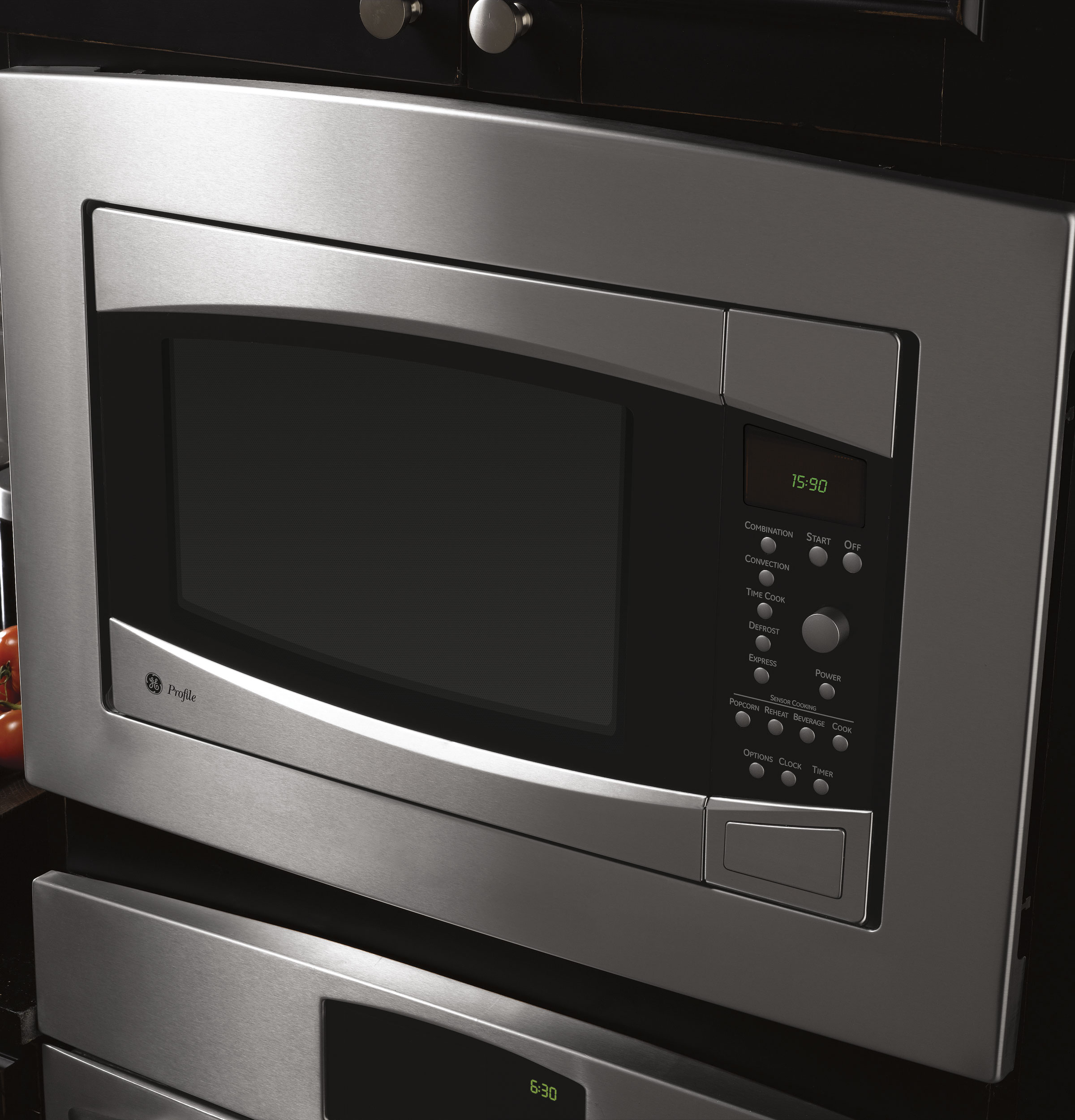 Countertop Convection Oven With Microwave : ... Cu. Ft. Countertop Convection/Microwave Oven - The Monogram Collection