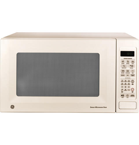 Ge 1 8 Cu Ft Capacity Countertop Microwave Oven Jes1855pch Liances