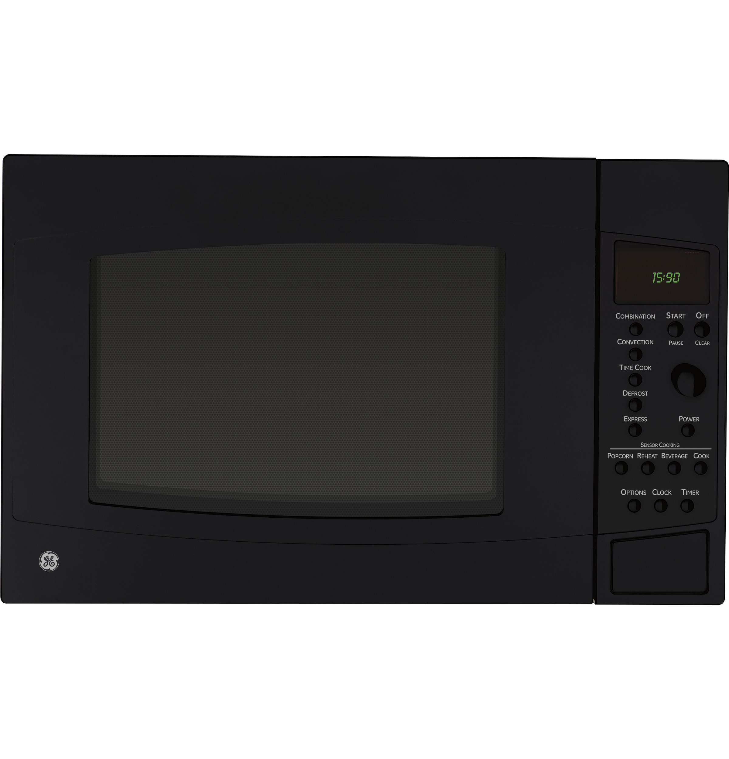 Countertop Convection Oven With Microwave : ... Ft. Countertop Convection/Microwave Oven PEB1590DMBB GE Appliances
