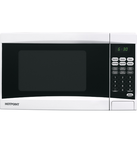 Hotpoint? 0.7 Cu.Ft. Countertop Microwave Oven RES0730DMWB GE ...