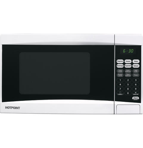 Hotpoint Countertop Microwave : Hotpoint? 0.7 Cu.Ft. Countertop Microwave Oven RES0730DMWB GE ...