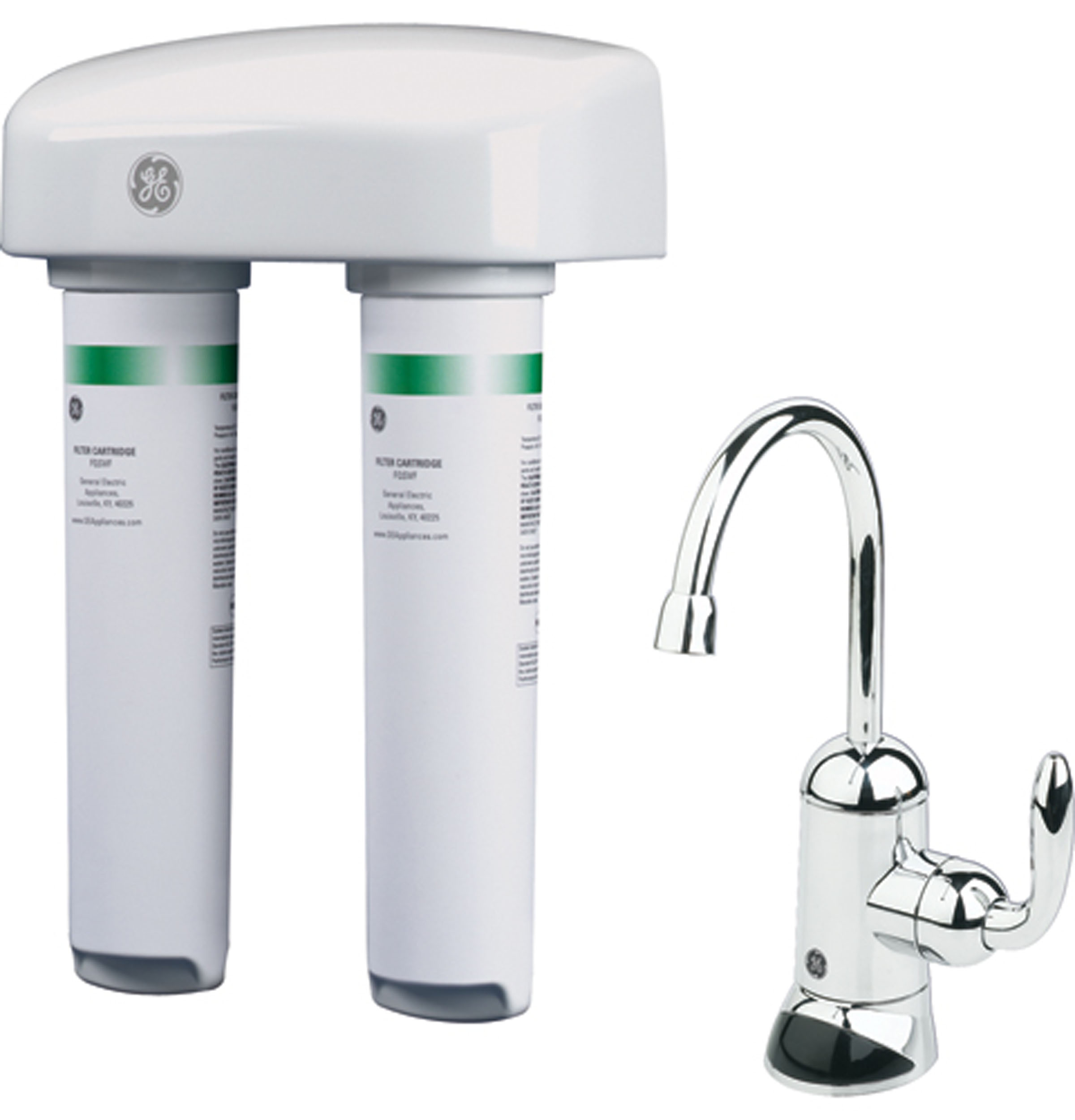 Ge 174 Dual Stage Water Filtration System Gxsv65f Ge