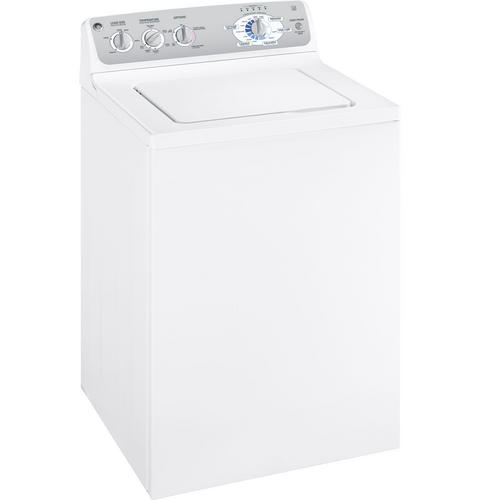 GE® 3 5 Cu  Ft  King-size Capacity Washer with Stainless Steel