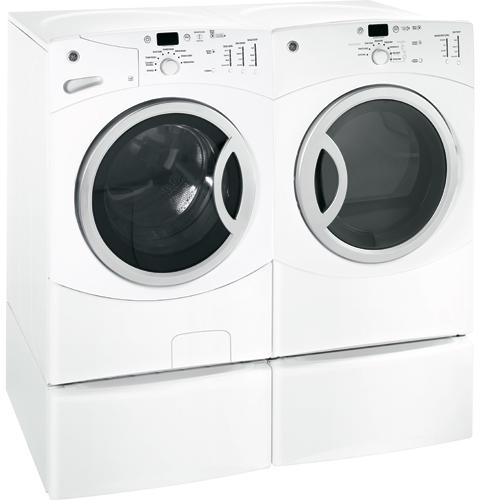 GE® ENERGY STAR® 3 8 IEC Cu  Ft  King-size Capacity Frontload Washer