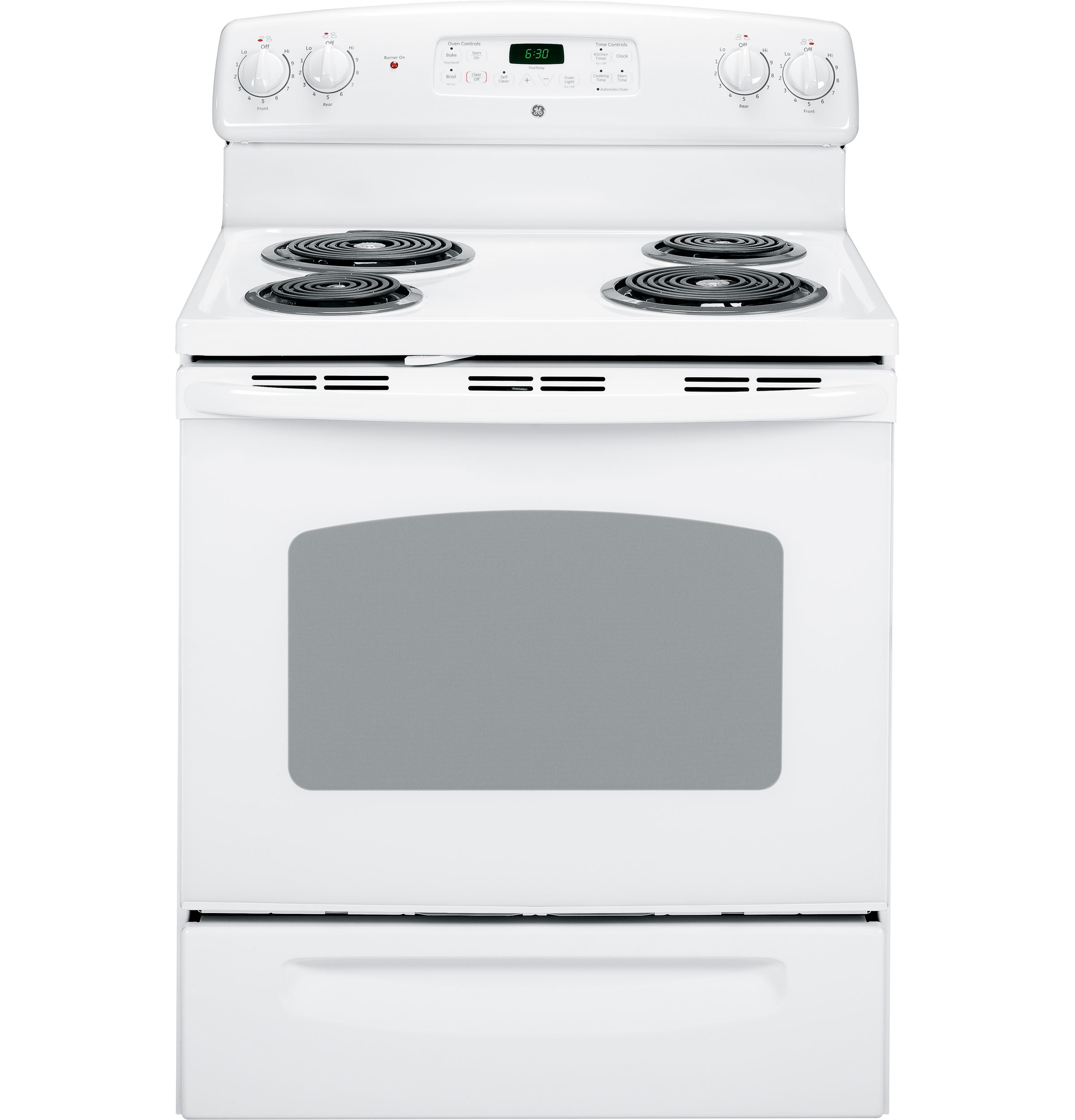 General Electric Stoves ~ Ge quot free standing electric range jbp dmww