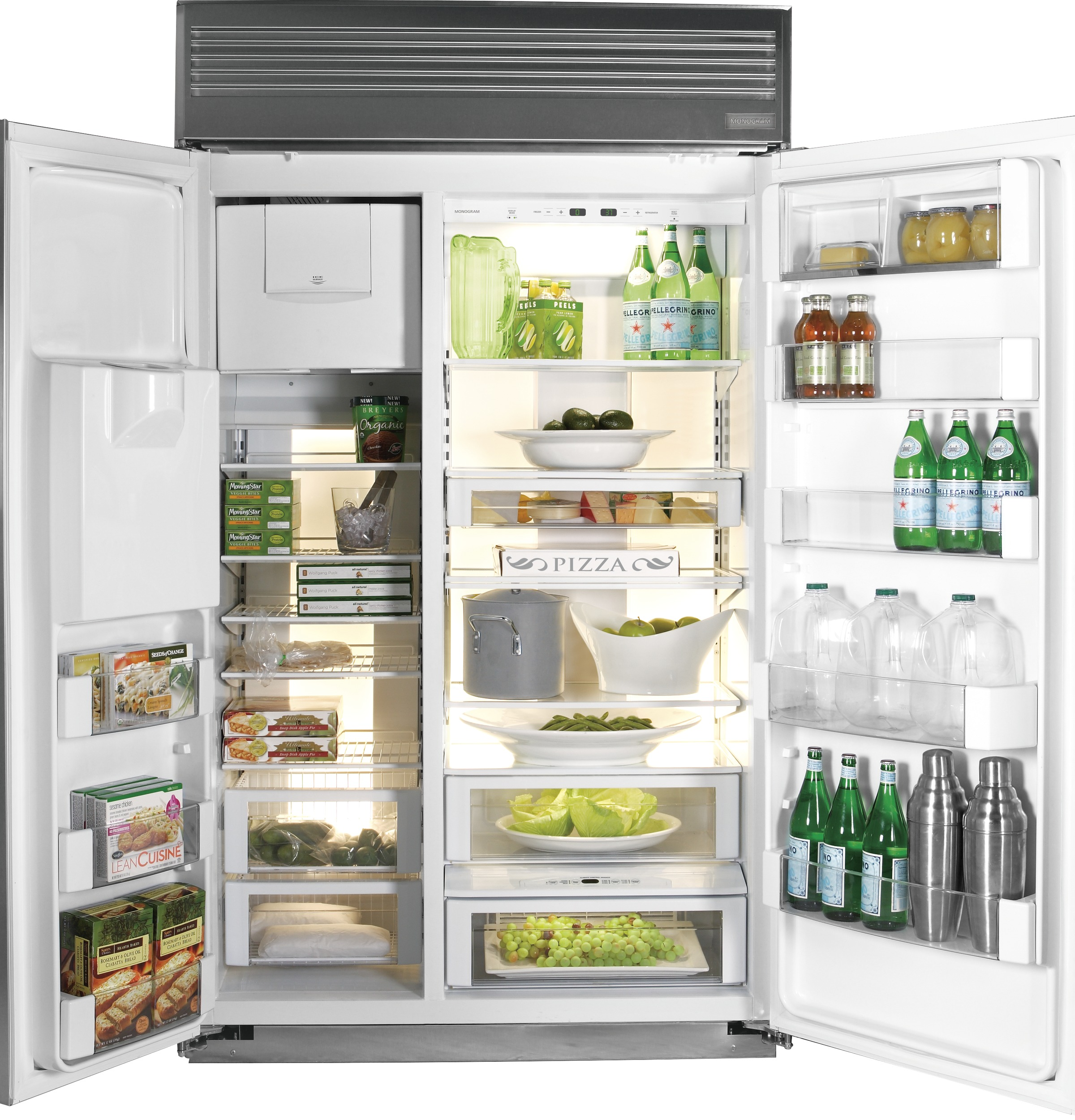 Built In Refrigerator Magnificent Home Design