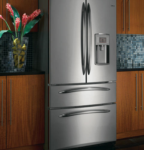 Ge Profile 24 9 Cu Ft Refrigerator With Armoire Styling
