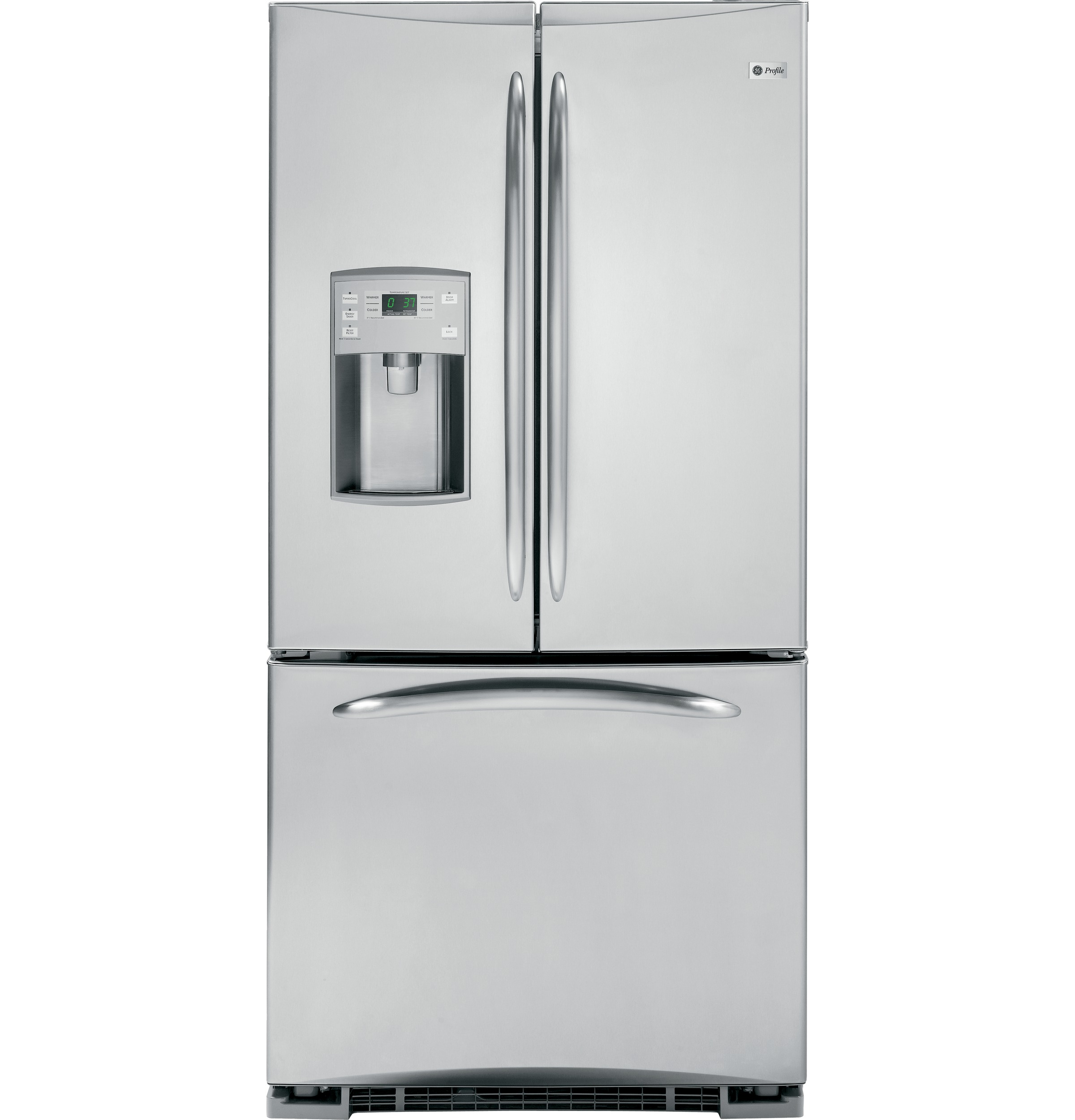 Ge Profile Energy Star 220 Cu Ft French Door Refrigerator