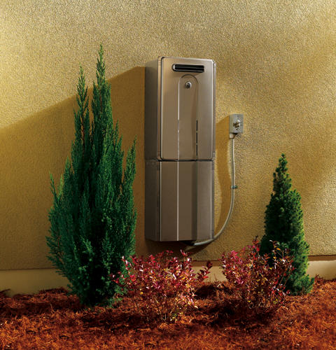 Ge 174 Outdoor Tankless Water Heater Gn94ensrsa Ge Appliances