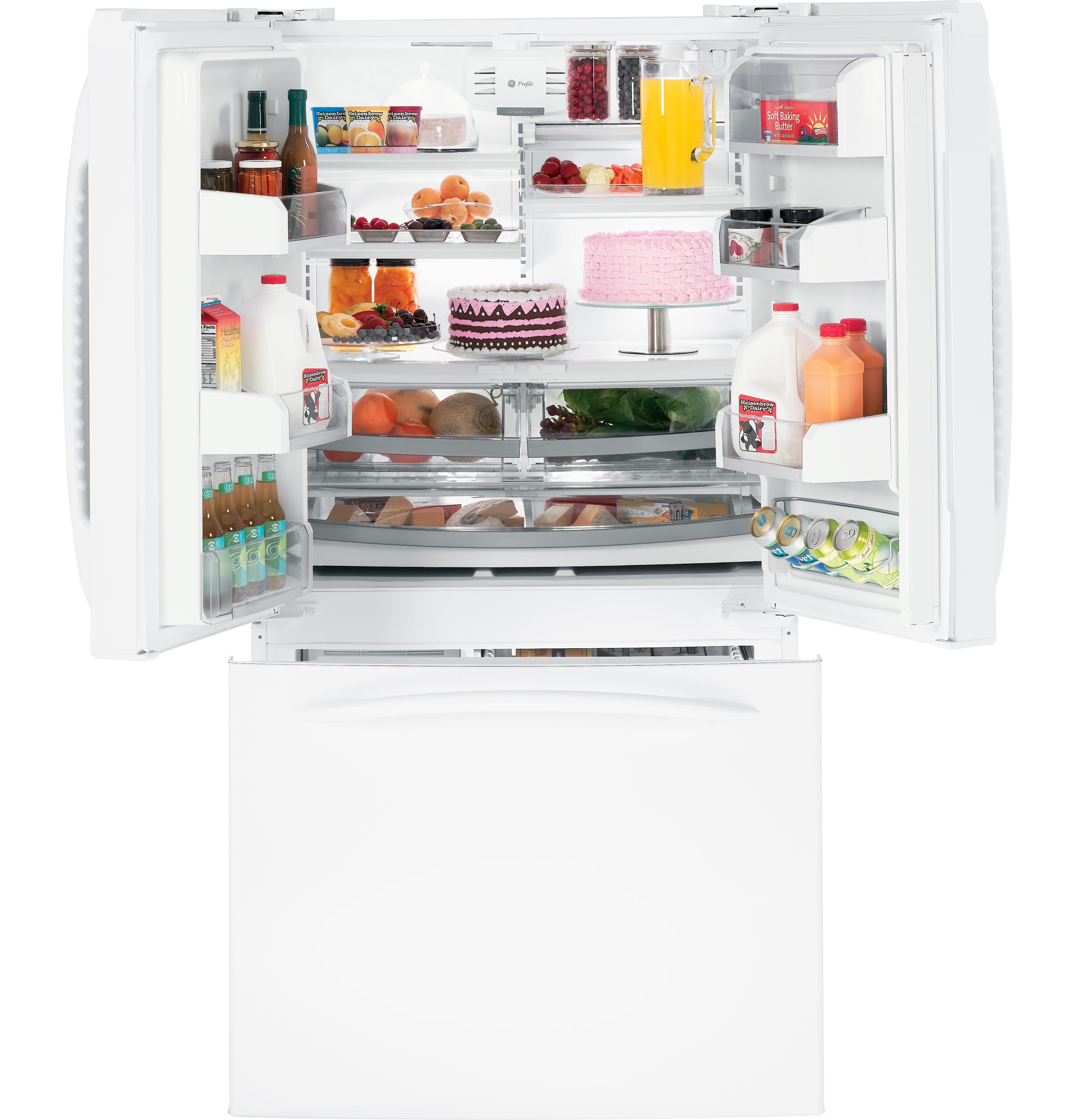GE Profile™ 25.1 Cu. Ft. French-Door Refrigerator