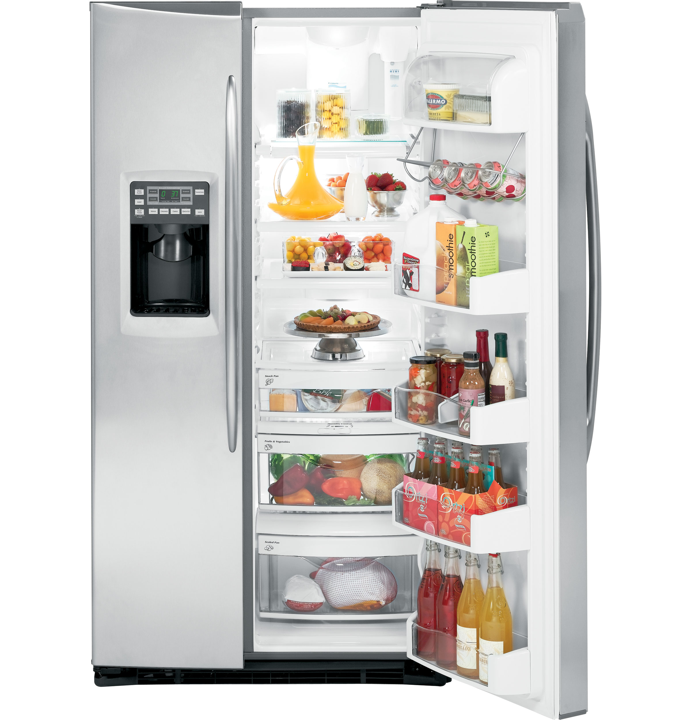 Ge Profile Energy Star 174 25 6 Cu Ft Side By Side