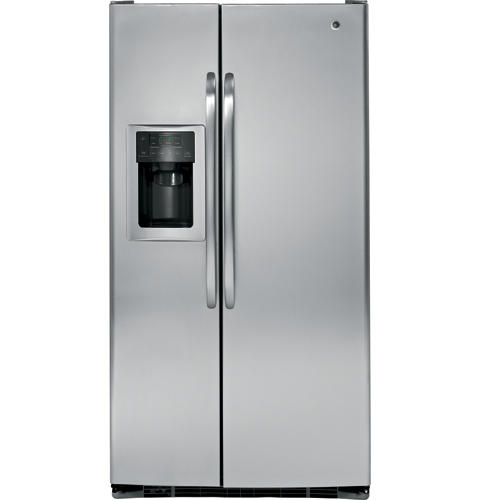 GE® ENERGY STAR® 25.4 Cu. Ft. Side-By-Side Refrigerator with ... on