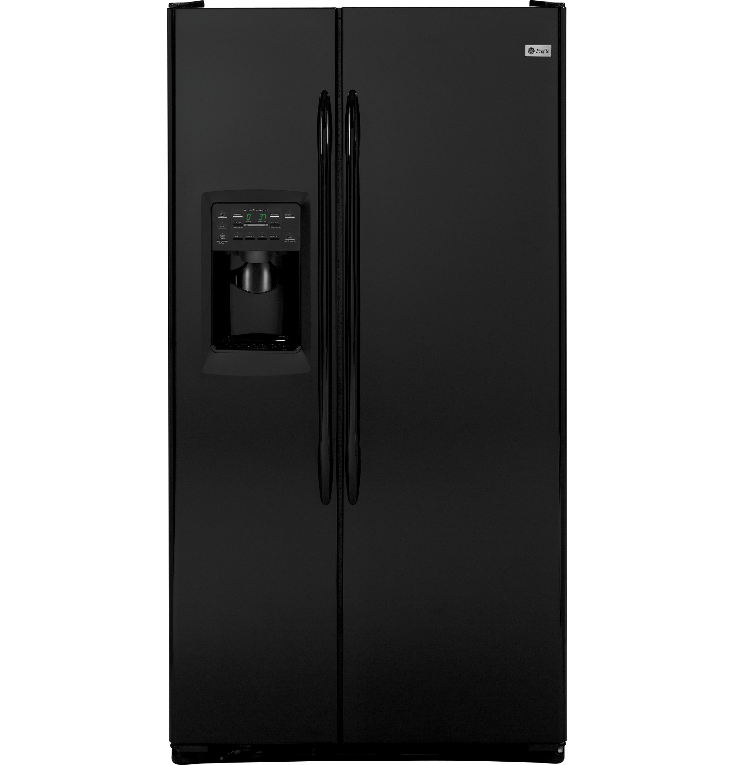 ge profile 23 3 cu ft side by side refrigerator. Black Bedroom Furniture Sets. Home Design Ideas